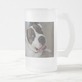 Pack frozen glass has to personalize frosted glass beer mug