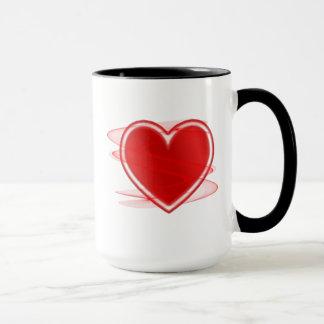 Pack heart mug