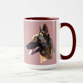 pack malinois mug