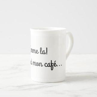 Pack mug firm! I take my coffee…