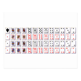Pack of Cards On White