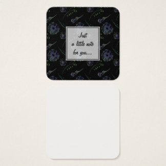 Pack of Little Notes for Leaving Messages Square Business Card