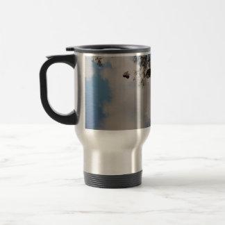 "Pack of voyage ""the sky in water "" coffee mugs"