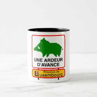 Pack - PROVINCE OF LUXEMBOURG Two-Tone Coffee Mug