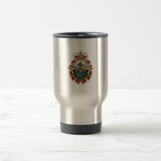 PACK STAINLESS FORCES CUP STAINLESS STEEL TRAVEL MUG