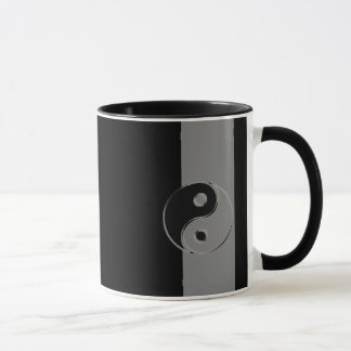 Pack with 2 colors combo Yin Yang Noir/Gris Mug