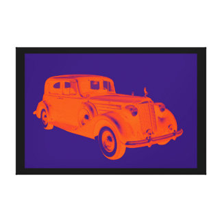 Packard Luxury Car Pop Art Canvas Print