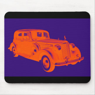 Packard Luxury Car Pop Art Mouse Pad