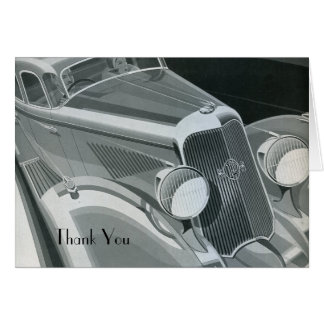Packard Thank You Card