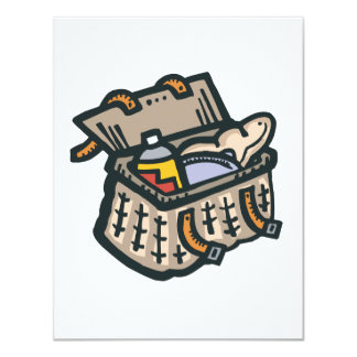 packed for a picnic picnic basket card