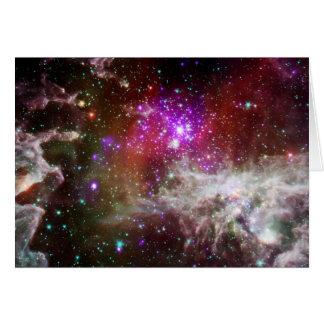 Pacman Nebula Birthday Card