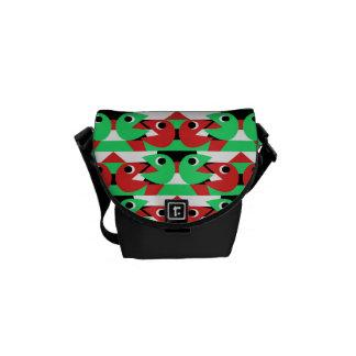 Pacmen Pattern Messenger Bags