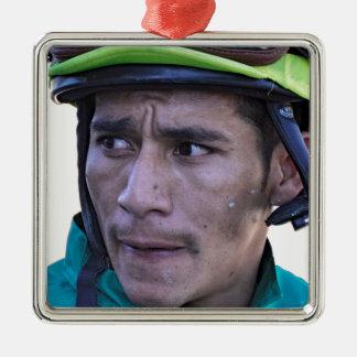 Paco Lopez at Parx Metal Ornament