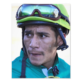 Paco Lopez at Parx Photo Print