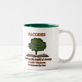 PACODES two-toned coffee mug