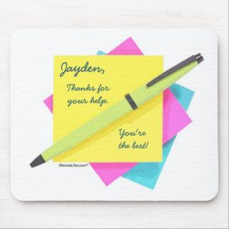 Pad & Pen. Mouse Pad