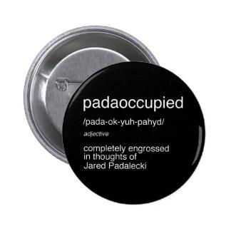 padaoccupied 2 6 cm round badge