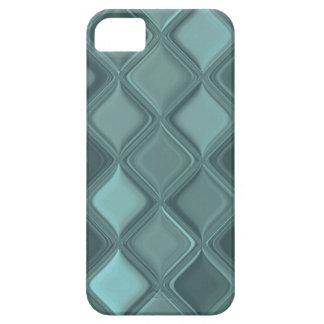 Padded Slate Grey Custom iPhone Covers iPhone 5 Cases