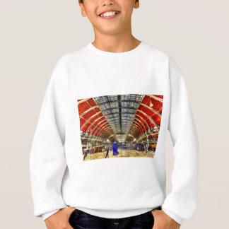 Paddington Station London Van Gogh Sweatshirt