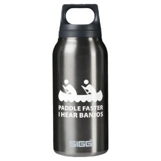 Paddle Faster I Hear Banjos 0.3L Insulated SIGG Thermos Water Bottle