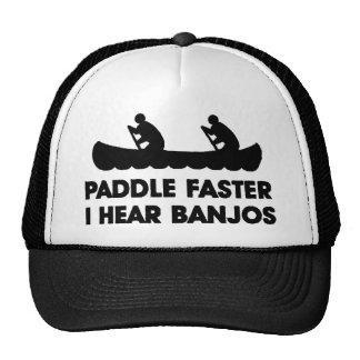 Paddle Faster I Hear Banjo's Cap