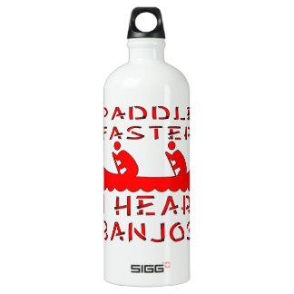 Paddle Faster I Hear Banjos SIGG Traveller 1.0L Water Bottle