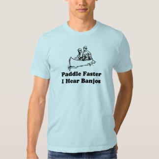 Paddle faster. I hear banjos. T-shirts