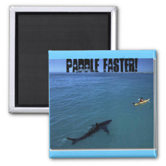 Paddle Faster! Magnet
