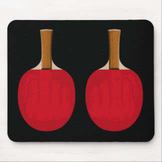 Paddle Fingers Mouse Pad