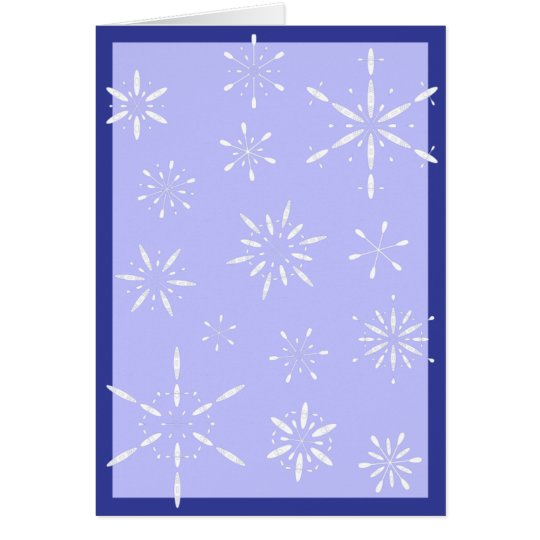 Paddle Flakes Greeting Card