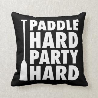 Paddle Hard, Party Hard Cushion