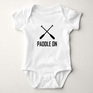 Paddle On Lake Life Baby Bodysuit