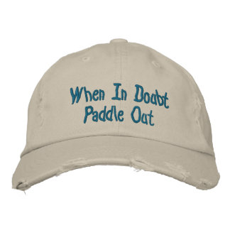 Paddle Out Distressed Baseball Cap