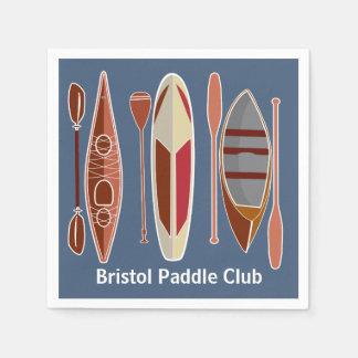 Paddle Passion Disposable Serviettes