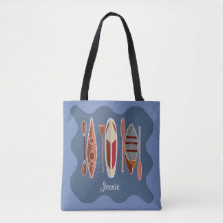 Paddle Passion Tote Bag