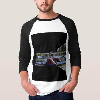Paddle Steamer Dimensional Art, T-Shirt