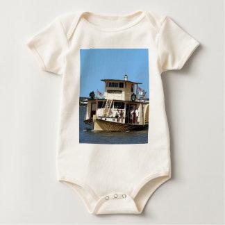 Paddle steamer, Goolwa, Australia Baby Bodysuit