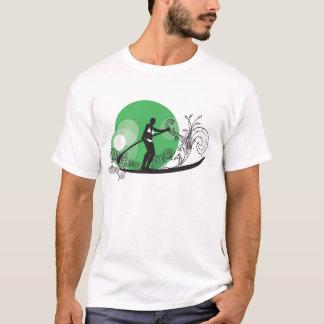 Paddle Surf Girls Green T-Shirt