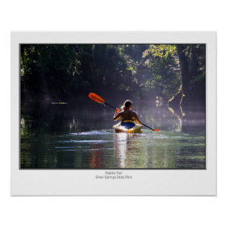Paddle Trail Poster