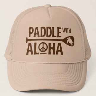 Paddle with Aloha Trucker Hat