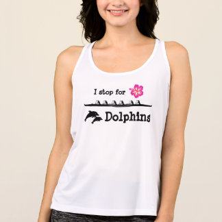 Paddle with Dolphins Singlet