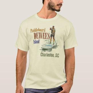 Paddleboard Dewees Island, Charleston, SC T-Shirt