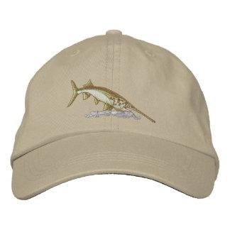Paddlefish Embroidered Baseball Caps