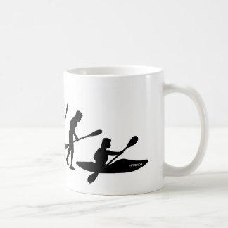 Paddling Evolution kayak Coffee Mugs