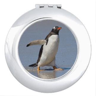 Paddling Gentoo Compact Mirror