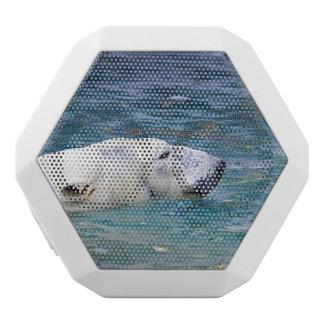 Paddling Polar Bear White Boombot Rex Bluetooth Speaker