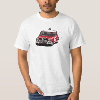Paddy Hopkirk Mini Cooper Rally Car T Shirts