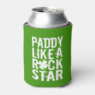 Paddy Like a Rock Star II Can Cooler