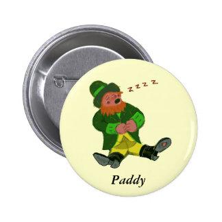 Paddy Pinback Button
