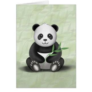 Paddy the Panda - Greeting Card